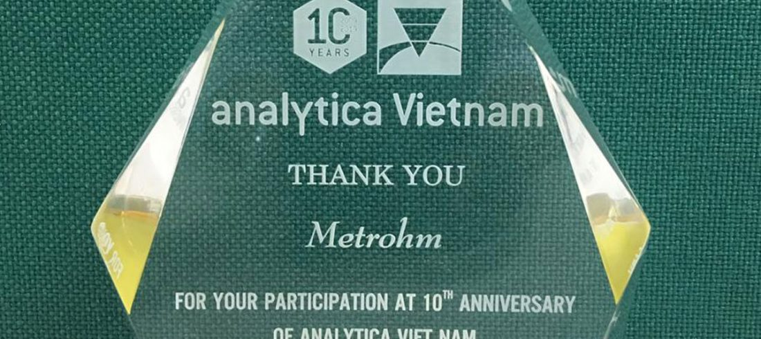 Metrohm Vietnam At Analytica 2019 in HCMC (Video)